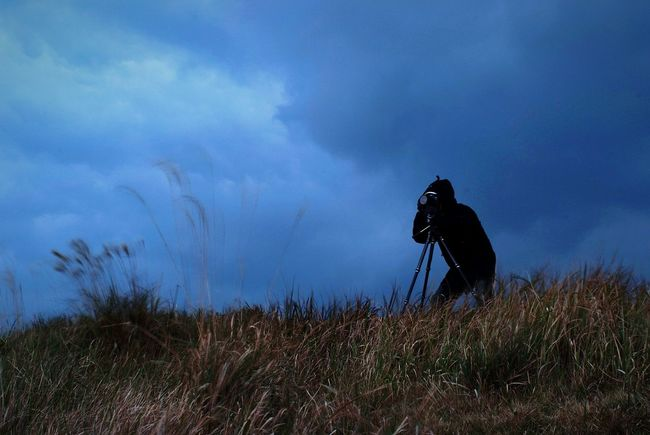 sniper Photographer Person Nature Scenery💋
