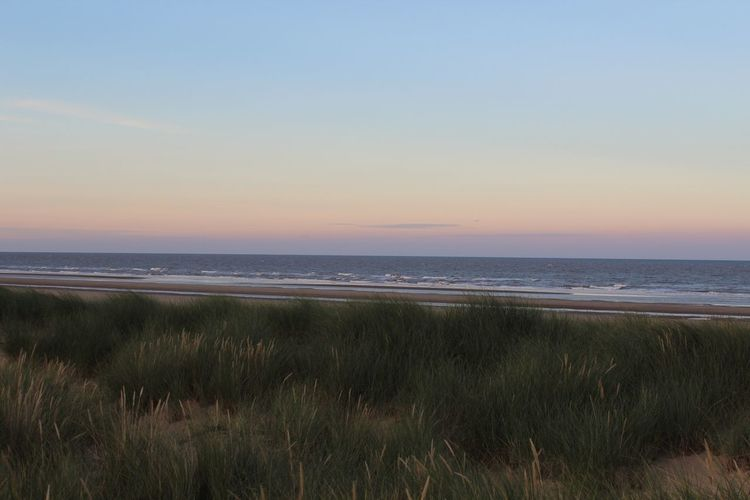 Mablethorpe Beach at Sunset