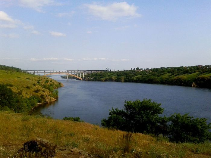 Ukraine Nature Photography Dnipro River Zaporozhye Water Nature Beauty In Nature Ukraine_nature Amazing Nature Bridge Khortitsa