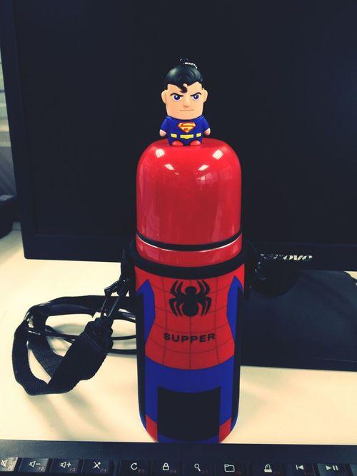 superman.& spaiderman