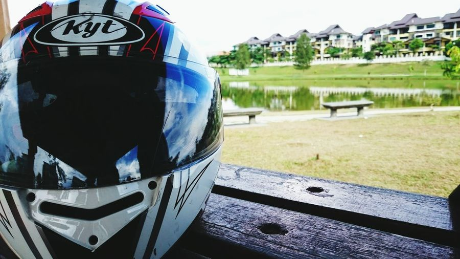 One last ride Broken Helmet Lake Focus