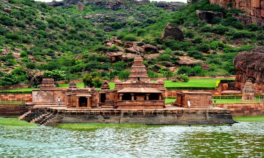 Badami Lord Shiva Temple Pond
