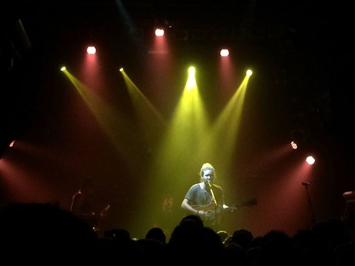Arts Culture And Entertainment Music Enjoyment Performance Nightlife Event Stage - Performance Space Lighting Equipment Musical Instrument Concert Musician Knust Hamburg Artist Guitarist Onstage Jeremyloops