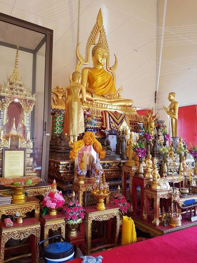 Gold Statue