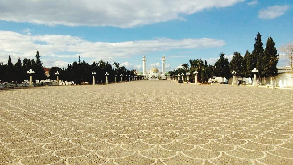 Tunisia Outdoors Sky Day Cultures No People Cloud - Sky Mosque Textures And Surfaces First Eyeem Photo The Architect - 2017 EyeEm Awards