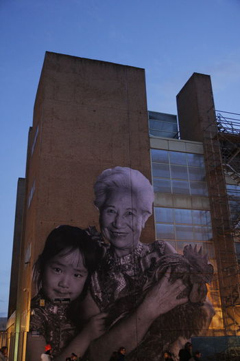 Architecture Building Exterior Chinese New Year City Clear Sky Gigantic Low Angle View Portrait Urban Art Usera