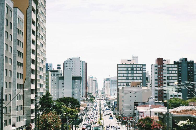 Everyday Lives Urban Landscape Curitiba