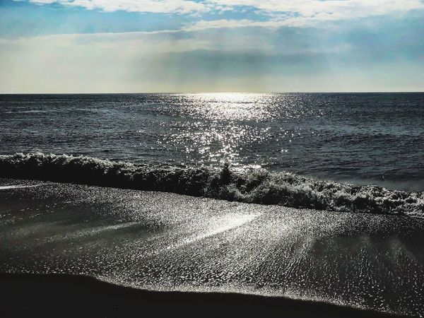 Water Rotes Kliff, Kampen Sea Water Sky Horizon Horizon Over Water Beauty In Nature Scenics - Nature Tranquility Outdoors Tranquil Scene Beach Nature Land Cloud - Sky No People Idyllic Sunlight Reflection Day