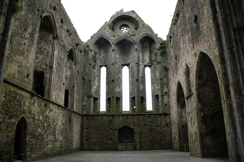 Abbey Architecture From My Point Of View Historic Ireland Old Old Building  Photography Rock Of Cashel Ruin Spirituality Tadaa Community The Past