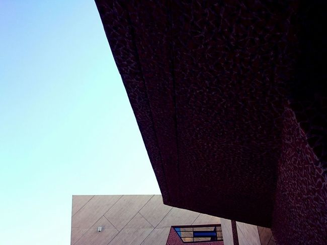 Colors And Patterns Architecture_collection Built Structure Clear Sky Architectural Feature Building Story Modern Architecture CKK Jordanki Torun, Poland