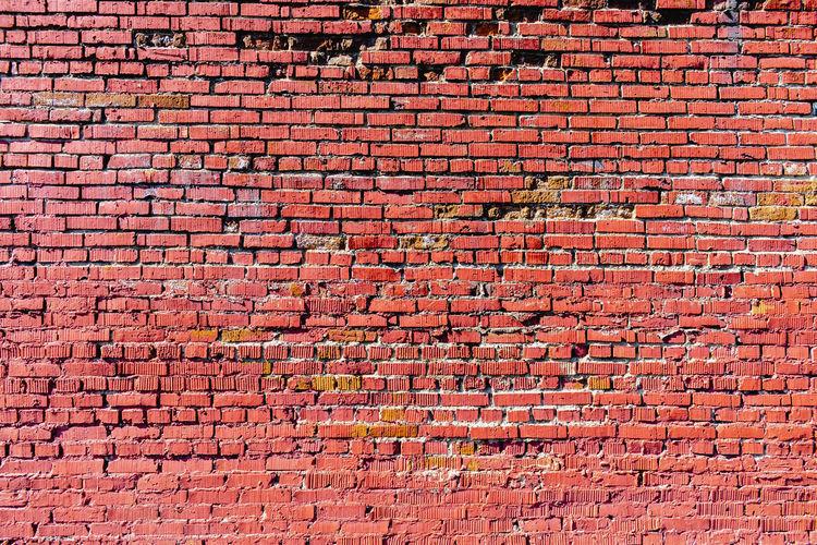 Full frame shot of brick wall