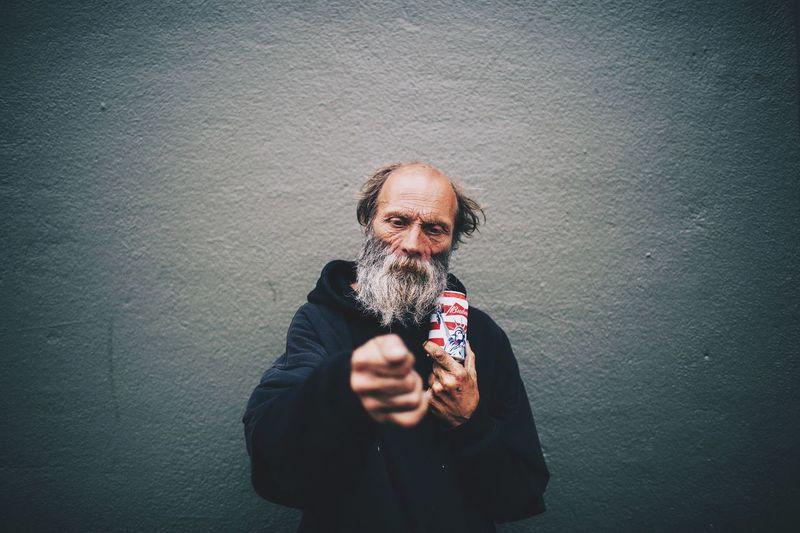 The Portraitist - 2015 EyeEm Awards San Francisco Homeless Awareness Portrait