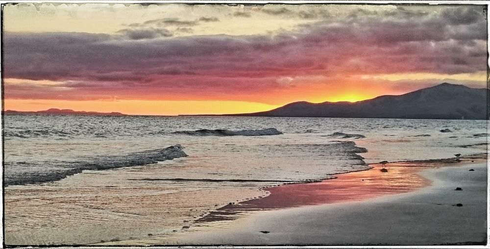 Sunset_collection Beachphotography Lanzarote Happyholidays