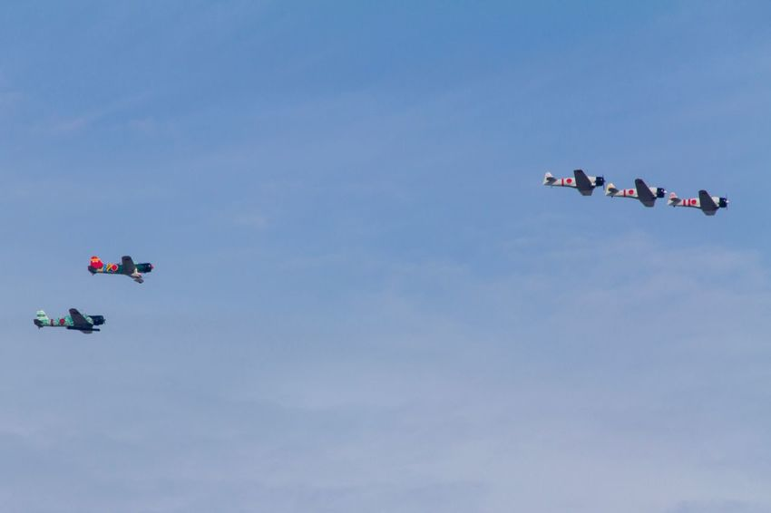 Wings Over Houston Airshow Canon EOS 60D Group Of People Sky Nature Leisure Activity Low Angle View Sport Blue