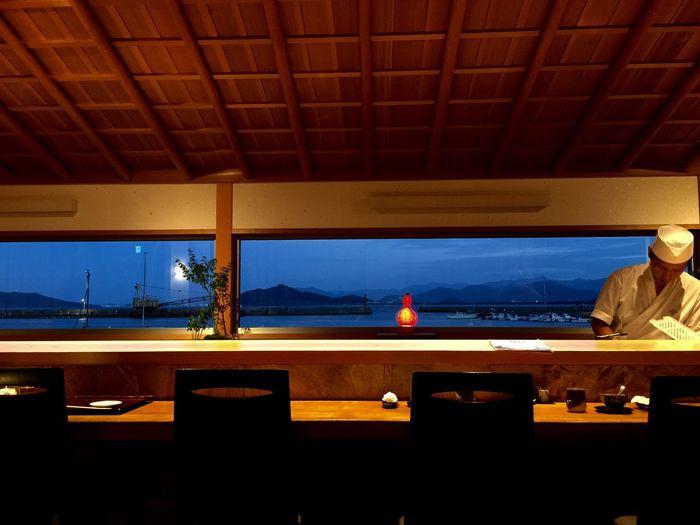 Dinner From My Point Of View Japanese Style Japanese Food Sushi Seaside Sunset Sea Fukuoka,Japan