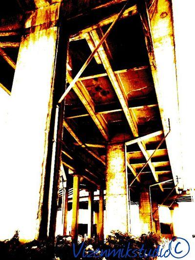 Taking Photos Photography Seattle Outdoors Photograpghy  Queenanne Rusted Colors Bridge View Bridges Under The Bridge