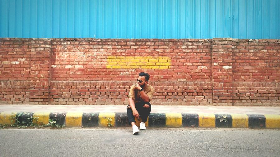 """""""YELLOW BRICKS"""" The Portraitist - 2017 EyeEm Awards One Person Sport Outdoors Lifestyles Activity Adult People Motion Adults Only Day Multi Colored One Man Only Full Length Young Adult Only Men City The Street Photographer - 2017 EyeEm Awards CannaughtPlace Delhi India Sunnyhopper Bestsellers EyeEm Arts Culture And Entertainment BYOPaper! Fashion Stories The Portraitist - 2018 EyeEm Awards The Fashion Photographer - 2018 EyeEm Awards The Street Photographer - 2018 EyeEm Awards Urban Fashion Jungle"""
