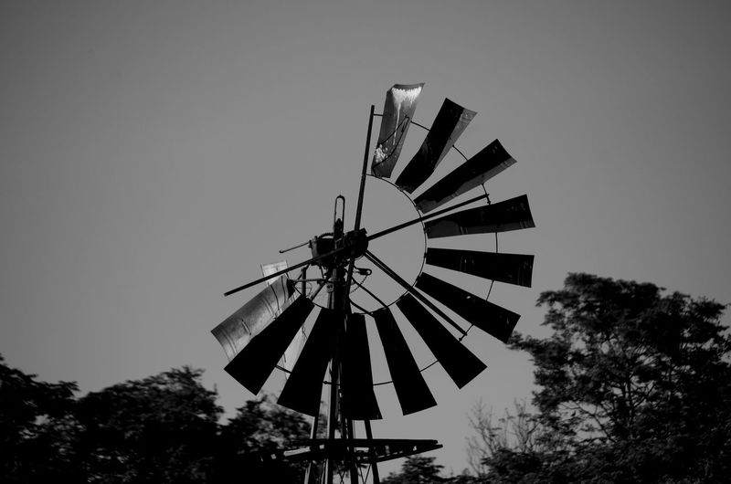 Alternative Energy Black & White Black And White Broken Broken Beauty Day Environmental Conservation Metal Metal Work No People Outdoors Renewable Energy Run-down Sky Tall - High Tranquil Scene Wind Power Windmill