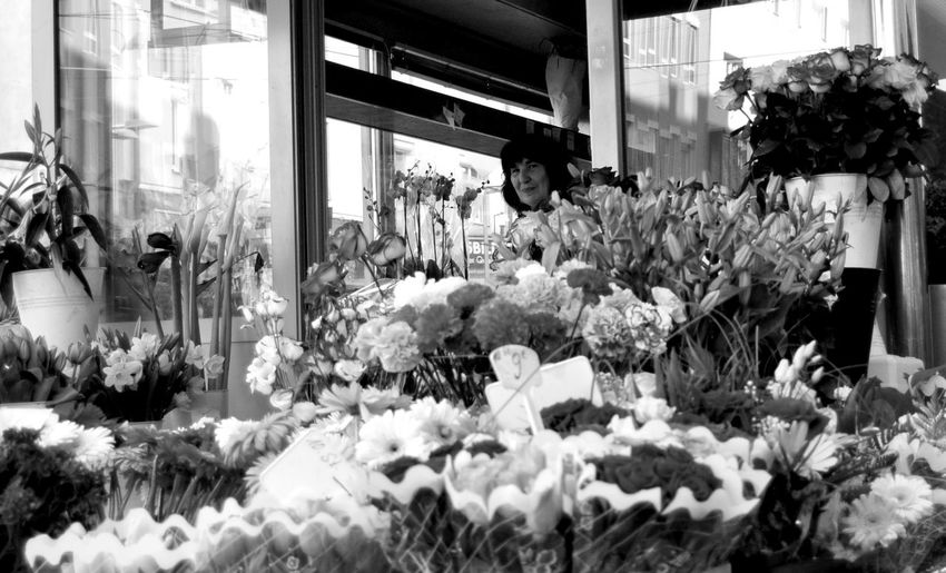 Flower Selling Flowers