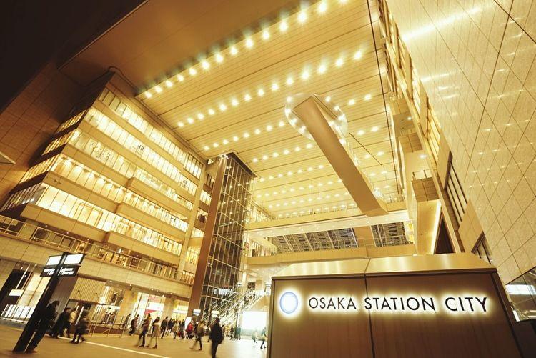 OSAKA Osaka Station Enjoying Life First Eyeem Photo Architecture Architecture_collection Building