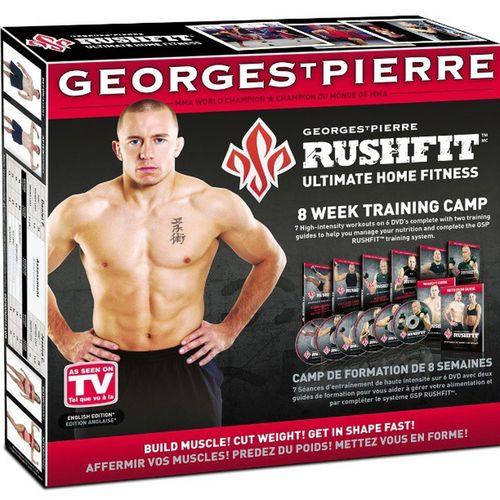 And it has begun...... Rushfit Strength Endurance Insane Fitness Georgestpierre