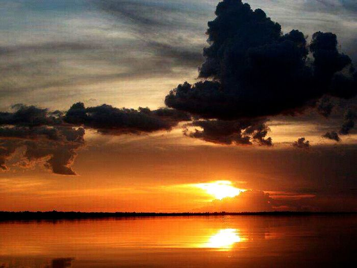 Nigthpicture Nigth 🌜⭐️ Nigthphotography Nigthbeautifull Tranquil Scene Venezuela, Rio Orinoco Travel Destinations Vacations Summer Reflection Nature Landscape Night Beauty In Nature Nightlife Tranquility Silhouette Horizon Over Water