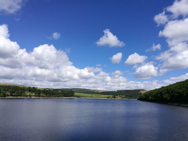 Tunstall Reservoir, landscape,