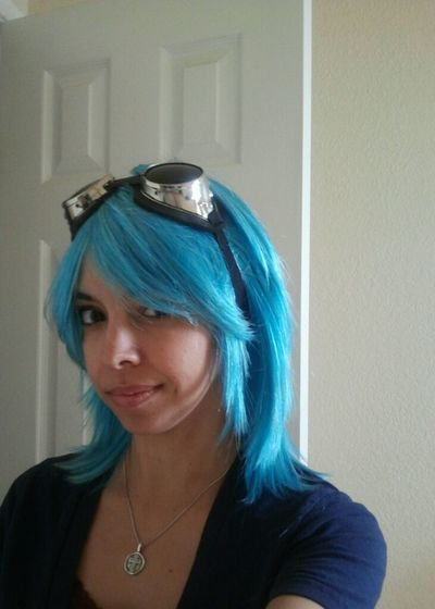 Look what came in the mail. My Ramona wig. Do I trim or keep as is?