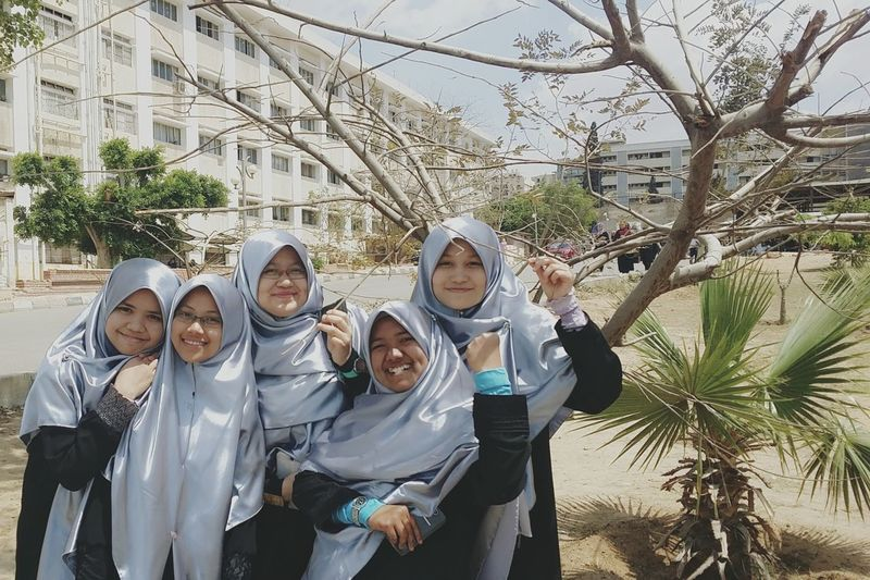 Class Photoshoot Live To Learn What I Value Friendship Laughter Alazhar University
