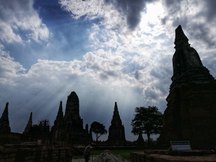 Historic City of Ayutthaya City Place Of Worship Ancient Civilization Spirituality Religion Business Finance And Industry History Old Ruin Cultures Architecture Sculpture Pagoda Buddha Stupa Buddhist Temple Buddhism Ayuthaya Province