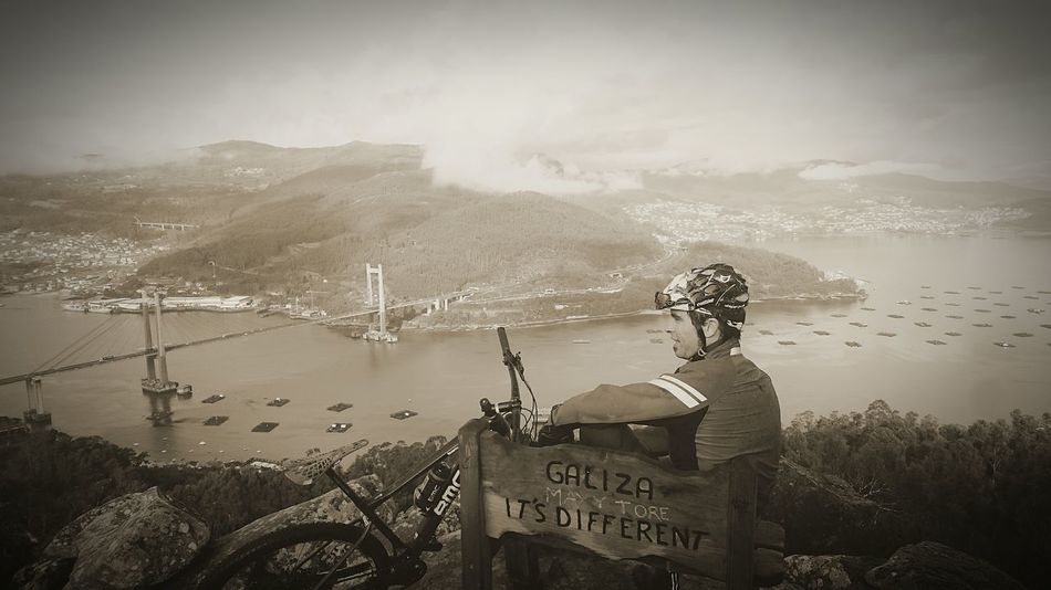 Hello World That's Me Mtblife MTB Sports Photography B&w Photography MTB ADVENTURE Galicia Calidade Fresh Air