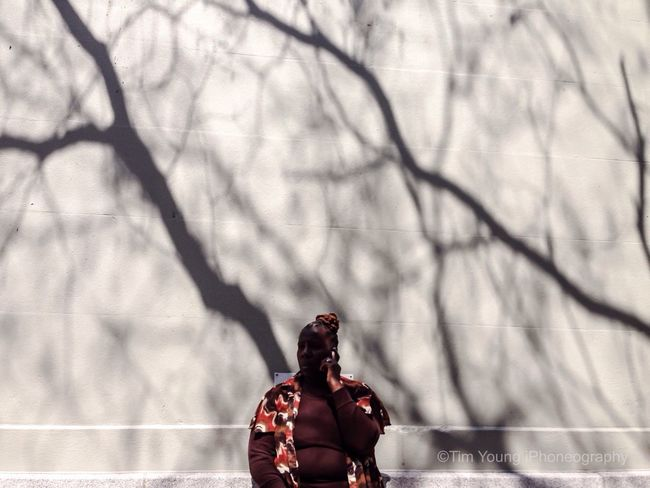 Women need real moments of solitude and self-reflection to balance out how much of ourselves we give away -Barbara de Angelis   Manhattan Spring 2014 Streetphotography Timyoungiphoneography