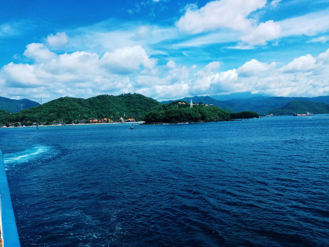 #Island #sea #sunset #sun #clouds #skylovers #sky #nature #beautifulinnature #naturalbeauty #photography #landscape #view Baliisland Day Outdoors Sea Sky Water First Eyeem Photo