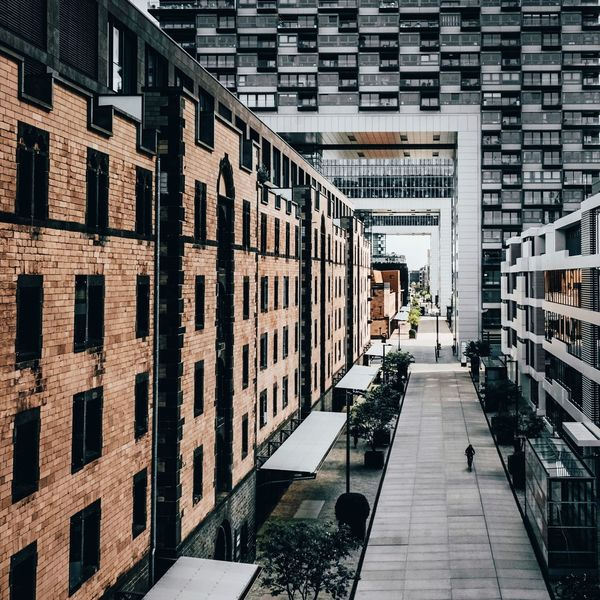 EyeEm Best Shots EyeEm Gallery Eye4photography  The Week on EyeEm Architectural Column Shadows & Lights One Person Shadow One Man Only EyeEm Selects Residential Building Futuristic City Architecture Pixelated