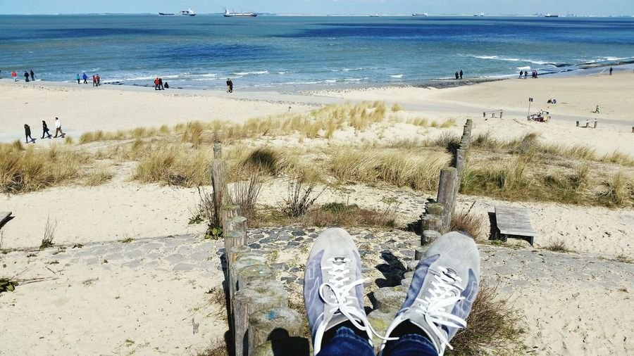 Enjoying The Sun Sunshine Sea Sand & Sea Sea And Sky Relaxing Travelling Sea View An Eye For Travel