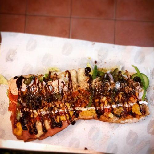 Sandwich Chillscene Subway 12inch Double flavour Special Multan