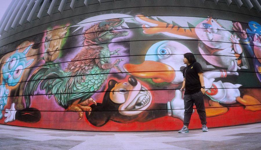 Up Close Street Photography Murals CityWalk Dubaiwalls Mydubai Art Graffiti Painting Wallpaint