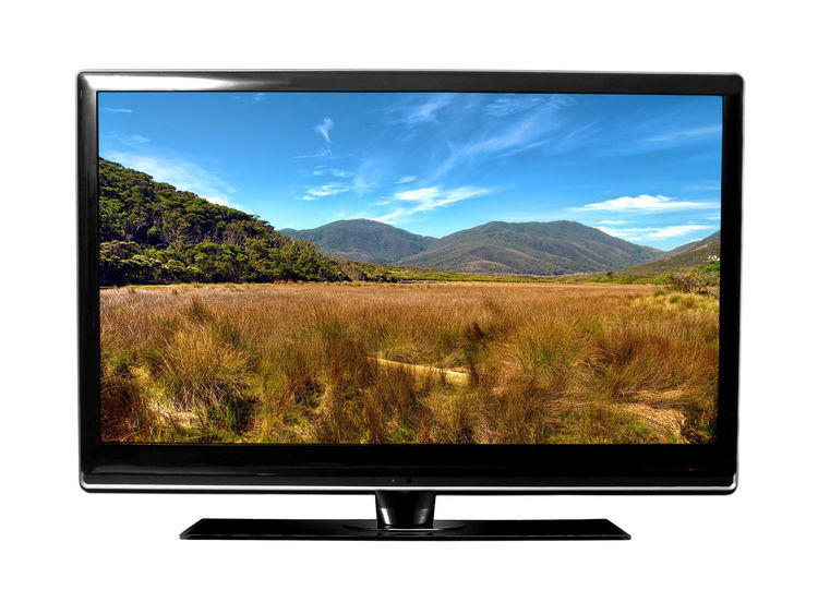 Day Device Screen Flat Screen Grass Liquid-crystal Display Nature No People Sky Technology Television Industry Television Set Television Show Tv