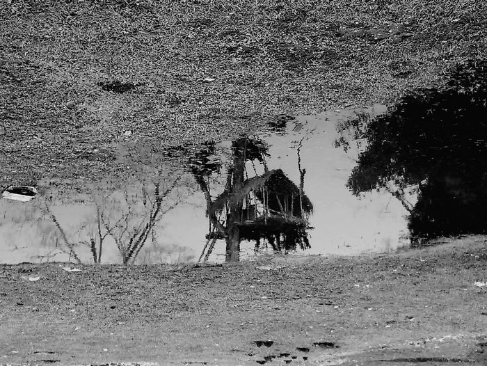 Reflection Blackandwhite Water Vintage Waterreflection Village Life Traditional Karbiculture Tradition Karbi Awesome_shots