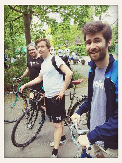 Biker Gang EyeEm Dodgeball 2014 Office Life With My BFF Paul