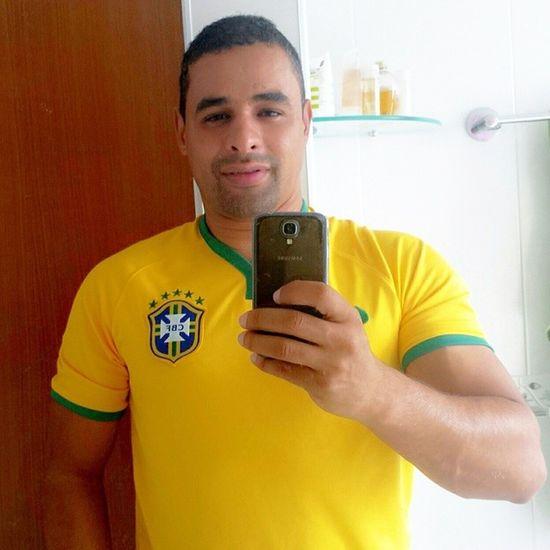 É hoje! Vamos lá Brasil! Que mais uma etapa seja vencida! Brasil Esporte Futebol Copadomundo selecaobrasileira