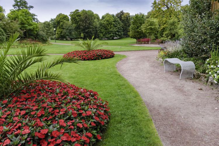 Nice park in