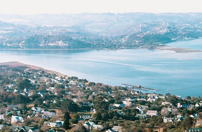 Outdoors Landscape Aerial View No People Scenics Sea Built Structure Minolta X300 South Africa Knysna Day Architecture Building Exterior Rural Scene Travel Destinations Tranquility Mountain Beauty In Nature Cityscape City Beach Sky Nature