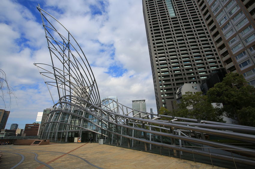 National Museum of Art, Osaka Japan National Museum Of Art OSAKA Architecture Art Building Exterior Built Structure Museum Outdoors Sky Skyscraper