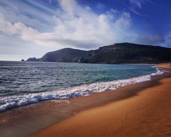 Sea Beach Scenics Beauty In Nature Sand Nature Shore