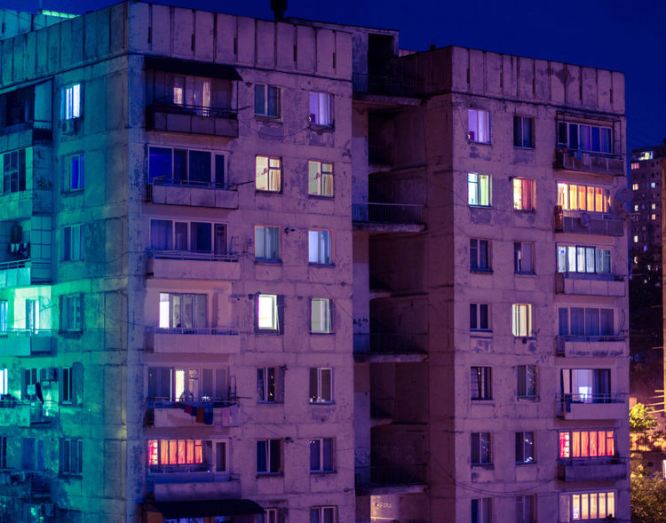 Night Lights Night Photography Nightphotography Apartment Architecture Bouilding Building Building Exterior Built Structure City City Life Dusk Glass - Material Illuminated Light Lighting Equipment Low Angle View Night Nightlife Nigthpicture No People Outdoors Reflection Residential District Window
