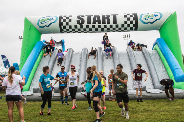 Insane Inflatable 5k Peoplephotography Running Obstacle Course People Of EyeEm Taking Photos EyeEmTexas Temple Texas Texas Taking Photos