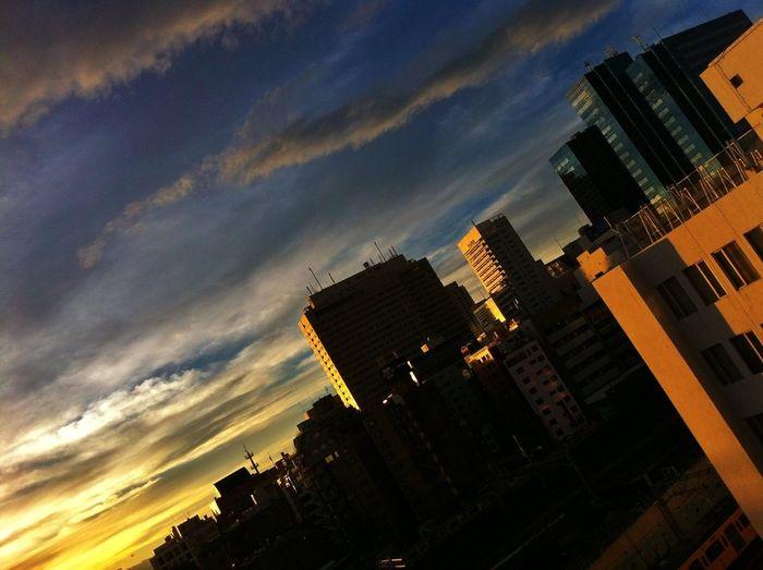 台風一過 Sun_collection, Sky_collection, Cloudporn, Skyporn Clouds And Sky 夕焼け