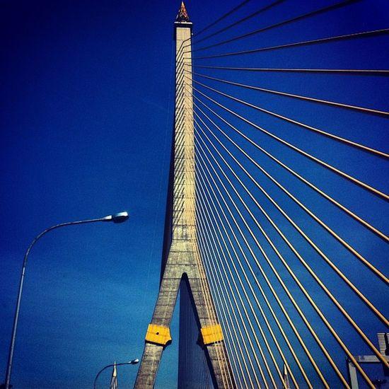 Imbalance Rama8 Bridge Bangkok Thailand
