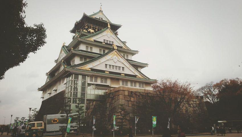 大阪城 Osakacastle